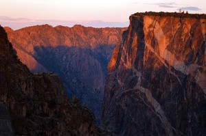 Sunrise, Black Canyon of the Gunnison National Park, 2004