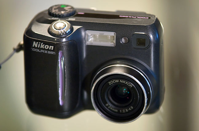 The Nikon Coolpix 885