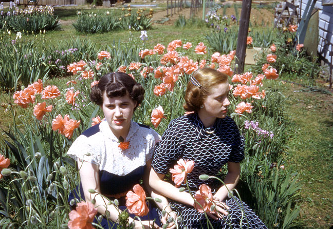 Beautiful images like this 1949 picture of my aunt and mother aren't made by Samsung or Nikon or Sony, but by people with hearts and spirits.