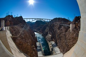 This Hoover Dam fisheye image was one rendering of the scene. I also had success shooting this as a two-panel panorama.