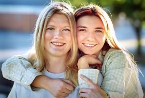 Jamie and Samantha, 2001 (105mm)