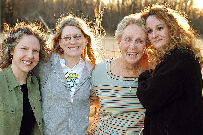 Thea, Jamie, Sarah Jo, and Nicole, 2005 (50mm)