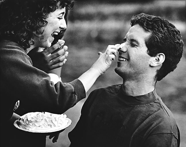 """Pie in the Face"" event, 1984"