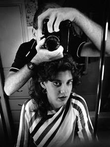 I photographed Anna in a mirror the day I decided to sell my first 20mm, the f/3.5 of early-1980s vintage.