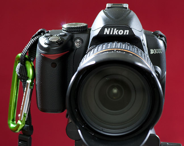 The Nikon D3000 is about four years old, but if you picked on up on the used market,  I would recommend it.