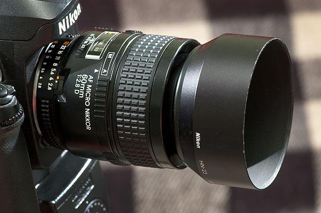 The 60mm f/2.8 AF Micro-Nilkkor.