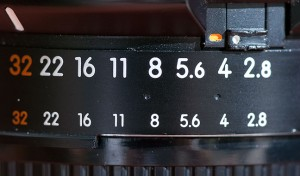 "Another potential lock problem: if the aperture ring on a Nikkor AF lens comes unlocked from its smallest aperture setting, the camera will display ""fEE"" on the top display and won't shoot. The tab at the upper right is the lock, but I've never gone a month without one coming unlocked."