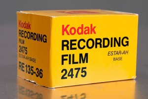 Kodak Recording Film 2475, possibly the worst photographic film I ever used.