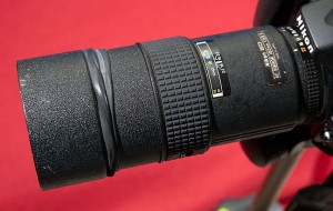 As you can see, the 180mm is scarcely bigger than a 70-300mm zoom, yet the images from it are far superior.