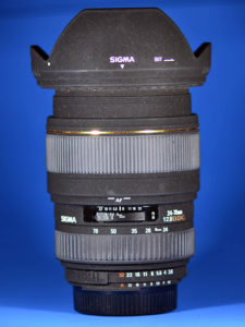 This is Michael's 24-70mm f/2.8 Sigma I borrowed to shoot my step-daughter's wedding in 2009.