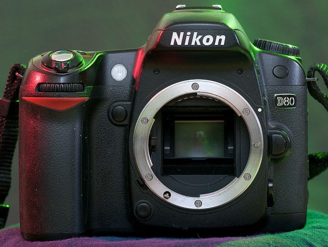The Nikon D80 is a fairly straightforward camera - not fancy, but capable of delivering great images.