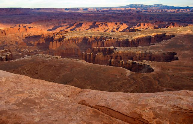 """I told my friend that the Grand View Point at Canyonlands is """"better than the Grand Canyon,"""" which I think it is for a number of reasons, not the least of which is that there are far fewer visitors."""