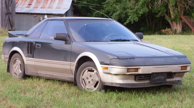 Abby has owned her Toyota MR-2 since she bought it new in 1986.