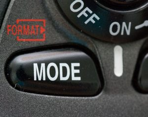 The exposure mode button on the top of the D200 is a professional standard. It made scrolling through the P, A, S, and M exposure modes quick and easy.