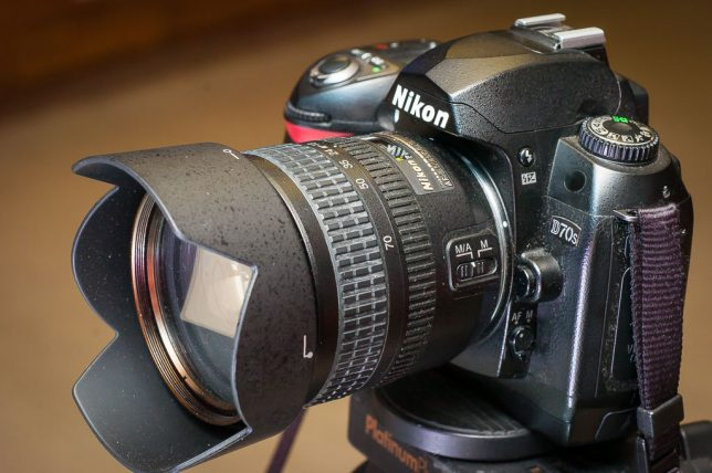 The Nikon D70S and its usual kit-lens companion, the 18-70mm f/3.5-4.5, make a very straightforward lens and camera combination, with no surprises and nothing amazing.