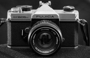 The Fujica ST-605n was my first single lens reflex camera.