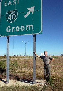 We made this image on the way home, in Groom, Texas. I wonder how many other newlyweds have made this same stop over the years.