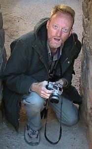 At Aztec Ruins National Momument, 2003