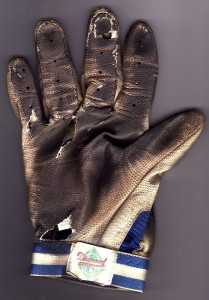 My used-up batting glove