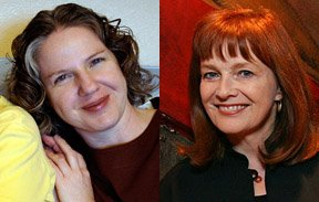 Thea Goldsby reminds me of actress Blair Brown