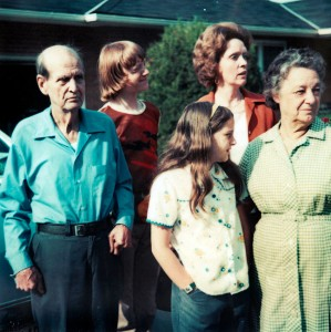 A typical Barron family photo for the 1970s