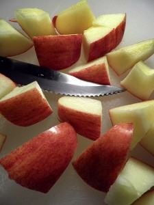 Gala apple I had for breakfast, about the sweetest food I eat on a regular basis