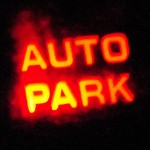 """The stubborn """"auto park"""" light on the instrument panel of our motor home."""