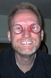 Protective eyewear was optional.