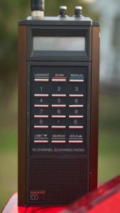 The Bearcat BC-100 was among the first programmable scanners. Although it wasn't a great radio, it worked, and I used it for a few years in the 1980s.