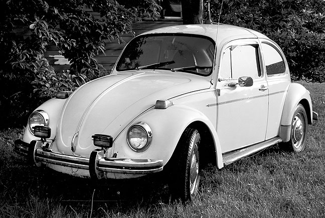 This was my first car, a 1973 VW Beetle. Scott Andersen and I drove it to New York City and back home to Oklahoma in 1985.