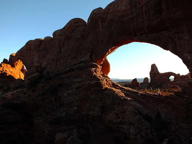 This South and North Window at Arches National Park, with Turret Arch visible through the North Window, was only one of the many sites photographer Jim Beckel and I visited on my most recent exploration of the American Southwest.