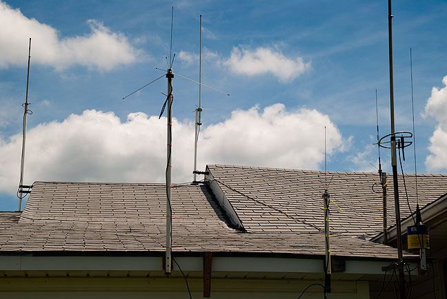 This is my antenna farm. There are many like it, but this one is mine. Without my antenna farm, I am useless. Without me, my antenna farm is useless.