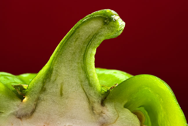 I grew this little green guy in my garden. Looks a bit like the Loch Ness Pepper, no?