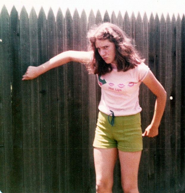 My sister Nicole impersonates our friend Billy, circa 1978.