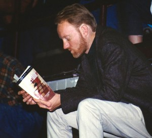 "I was reading a lot of Albert Camus in the late 1990s, and I'm sure his writing influenced my own. This is me reading ""The Plague."""
