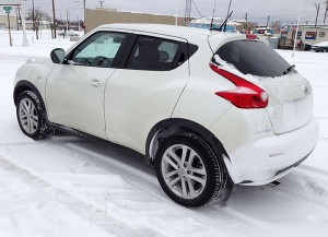 Over the past week, my Nissan Juke has been an unstoppable force in the mix of ice, sleet and snow.