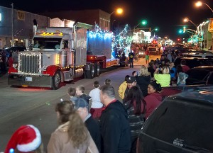 The 26th Annual Pat Taylor Memorial Parade of Lights marches down Main Street tonight.