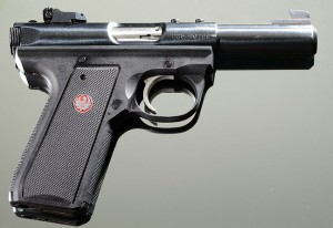 This is the excellent Ruger MkIII 22/45.