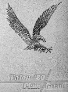 This is the cover of the 1980 Talon, for which I was a writer, although I only wrote a couple of pieces.