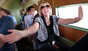 Once airborne, Lisa Bratcher felt a sense of elation.