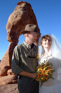 Despite the decade between then and now, our wedding at Delicate Arch seems like yesterday.