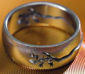 "I sometimes refer to my red-tailed lizard ring, which I bought in Moab, Utah, on our fifth anniversary in 2009, as my ""fifth anniversaring."""