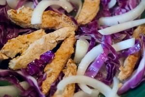 Vegan stir-fry, September 2014