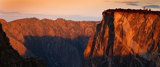 Sunrise, Black Canyon of the Gunnison National Park, Colorado