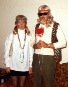 Joe and Sarah Jo weren't really hippies; it was Halloween 1972.