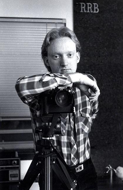 1982: in my room in Lawton, Okla.