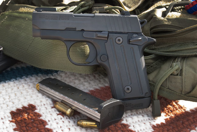 Yes, I know this is a Sig Sauer, but I've been holding on to this image for months, and wanted to use it.