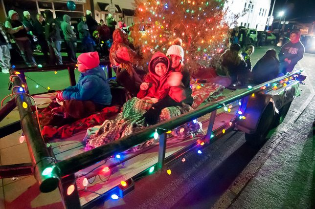 The annual Pat Taylor Memorial Parade of Lights is always beautiful, but Thursday night might have been the coldest in its history.