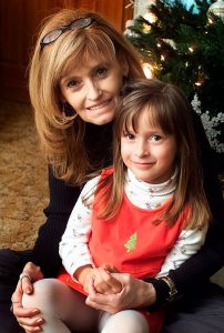 I've known Teddy since she was a little girl, pictured here with Abby in December 2004.