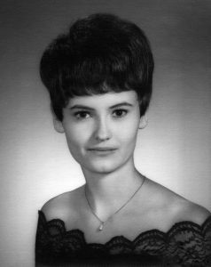 This is Abby's senior portrait, made in 1968. As you can see, she has always been beautiful.